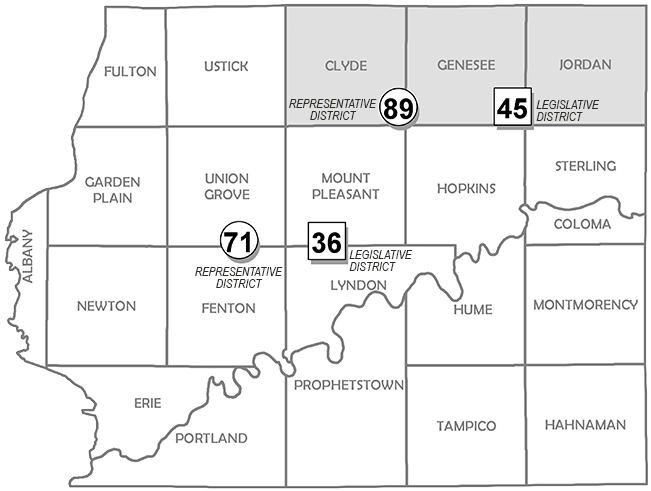 State Legislative Districts