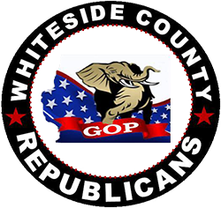 Whiteside County, IL, Republicans logo
